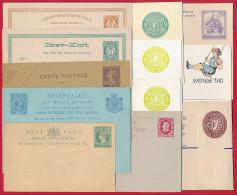 12 Alte Karten Und Briefumschäge ~ Ab 1900 - Sonstige - Europa