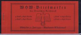 Deutsche Reich: Markenheftchen MH 45 WHW 1938 MNH/**, Postfrisch  Sans Charnière - Duitsland