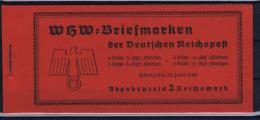 Deutsche Reich: Markenheftchen MH 46 WHW 1939 MNH/**, Postfrisch  Sans Charnière - Germany