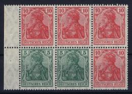 Deutsche Reich: Markenheftchen H-BL 27   MNH/**, Postfrisch  Sans Charnière - Germania