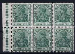 Deutsche Reich: Markenheftchen H-BL 2 II A B    MNH/**, Postfrisch  Sans Charnière  HAN 3 - Markenheftchen