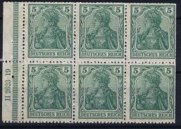 Deutsche Reich: Markenheftchen H-BL 2 II A B    MNH/**, Postfrisch  Sans Charnière  HAN 4 - Markenheftchen