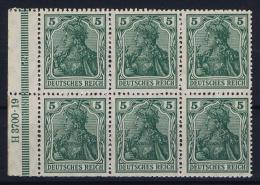 Deutsche Reich: Markenheftchen H-BL 2 II A A    MNH/**, Postfrisch  Sans Charnière  HAN 6 - Markenheftchen