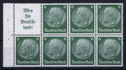 Deutsche Reich: Markenheftchen H-BL  H 85  MNH/**, Postfrisch  Sans Charnière - Markenheftchen