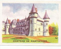 CHROMOS MAGDELEINE -  CHATEAU DE MARTINVAST - Cromos