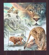 BURUNDI   2012 LIONS  YVERT N°B NEUF MNH** - Félins