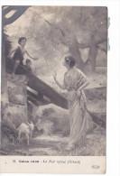 25174 Peintures Tableaux- Salon 1909- Hirsch- Le Nid Refusé - 33 ELD