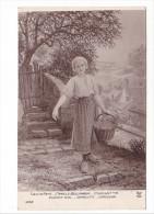25175 Peintures Tableaux- Salon Paris 1921- Camille Bellanger -cerisette Cherry Girl, Cerecita Ciriegina -4352 AN - Peintures & Tableaux