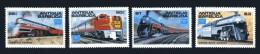 Antigua-Barbuda: Histor. Eisenbahnen 1986; Postfrisch/MNH - Trains