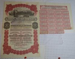Brazil Railway Company, K 60 M$ - Chemin De Fer & Tramway