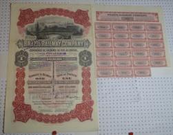 Brazil Railway Company, K 40 M$ - Chemin De Fer & Tramway