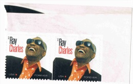 USA 2013 USA Ray Charles 0.47c X 2 MNH ** - United States