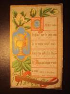 Image Religieuse Pieuse Ancienne F.BOUASSE Marie WALTER Le 28 MAI 1883 - Devotion Images