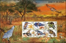 Nevis 1999. Michel #1361/72+Bl.#162/63 MNH/Luxe. Birds. 2Klb.+2 Bl. (B49) - Antillas Holandesas
