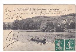 25181 DENNEMONT VUE Des COTEAUX - 12 BF Paris -barque Canot