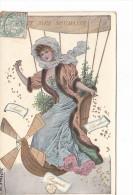 25184 Voici Mes Souhait -mongolfiere Femme Argent Bonheur Sante Prosperite  - Sans Ed - - Fêtes - Voeux