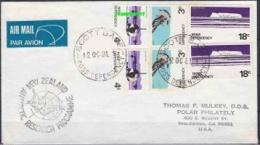 Ross Dependency 1981 Scott Base Cover To Inglewood CA USA  Ca 12 Oc 1981 (25883) - Ross Dependency (Nieuw-Zeeland)