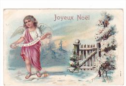 25189 Joyeux Noel , Enfant Jésus  Gloria Exelsis Deo - éd  ? Serie 111 - Relief