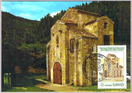 Iglesia PRERROMANICA SAN MIGUEL DE LILLO. Chuchr Pre-Romanesque. Patrimonio Humanidad. Oviedo 1990. Asturias - Churches & Cathedrals