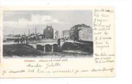 ATHUS - Frontière: LUXEMBOURG/BELGE - Editeur: L. Duparque, Florenville - Circulé: 1903 - Aubange