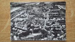 CPSM Grand Format - Givet - Vue Panoramique - Au 1er Plan, La Place Mehul - Givet