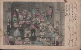 Russian Children , Musicans / 1904 Year - Scènes & Paysages