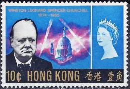 Hong-Kong 1966 - Winston Churchill ( Mi 213 - YT 216 ) MNG - Hong Kong (...-1997)