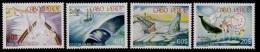 (025) Cape Verde  Whales / Baleines / Wale / Rare / Scarce / 2007  ** / Mnh  Michel 907-10 - Kap Verde