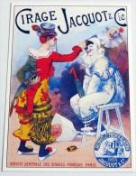 CPM Carte Postale Moderne Postcard : Publicité Affiche CIRAGE JACQUOT - Reclame