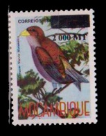 (011) Mocambique / Mozambique  Bird / Oiseaux / Vogel / Overprint / Surcharge / Re-valued / Rare  ** / Mnh Michel B 1392 - Mozambique