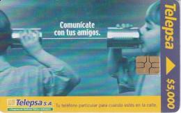 TARJETA DE COLOMBIA DE TELEPSA COMUNICATE CON TUS AMIGOS - Colombia