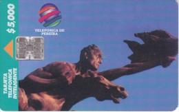 TARJETA DE COLOMBIA DE TELEPSA TELEFONICA DE PEREIRA - Colombia