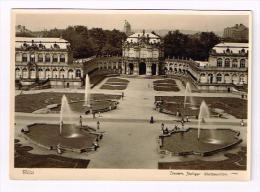 Dresden Zwinger Pavillon Mit 4 Springbrunnen - Dresden
