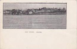 Maine Bay Point Panorama