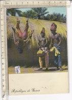 PO3427D# REPUBBLICA DELLA GUINEA - BASSE GUINEE - DANZE FOLKLORISTICHE - COSTUMI TIPICI  VG 1969 - Guinea