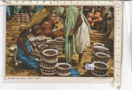 PO3445D# NIGERIA - SOKOTO - DECORATED POTS  VG 1981 - Nigeria