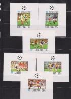 O) 1978 LIBERIA, PROOF, WORLD CUP SOCCER ARGENTINA  1978 - FOOTBAL - Liberia