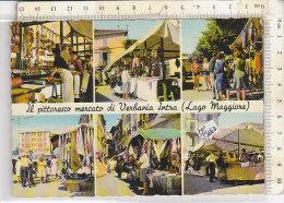 PO3566D# LAGO MAGGIORE - VERBANIA INTRA - MERCATO CARATTERISTICO - SALUMI-FORMAGGI  No VG - Verbania