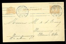 NEDERLAND * HANDGESCHREVEN BRIEFKAART * GELOPEN IN 1918 Van HAARLEM Naar HEEMSTEDE (10.007m) - Postal Stationery