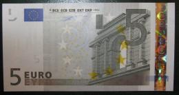 5 EURO G004H5 Netherlands Serie P Duisenberg Perfect UNC - EURO