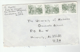 ALGERIA Stamps COVER To USA - Algeria (1962-...)
