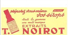 Buvard NOIROT Préparez Vous-même Vos Sirops Toute La Gamme Une Seule Marque EXTRAITS NOIROT - Softdrinks