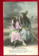 HAR-01  Lot De 2 Cartes, Dianes Chasseresses, ARC Et FLECHES, Bows And Arrows, Tous Les Scans. Aucune Carte N´a Circulé - Fairy Tales, Popular Stories & Legends