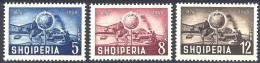 Albanien Mi. 482 / 484    Postzüge Mit Dampflok  ** / MNH - Trains