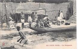 AFRIQUE - AU PAYS NOIR - La Baignade - Cartes Postales