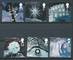 GB 2003 CHRISTMAS SET OF 6 USED SG 2410-15 MI 2164-69 SC 2165-70 IV 2502-07 - Used Stamps