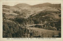 43 LE MONASTIER SUR GAZEILLE / La Petite Suisse Et Les Monts Breysse / - Francia