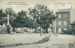 43 MONISTROL SUR LOIRE / La Place Du Faubourg Du Monteil / - Monistrol Sur Loire