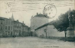 43 SAINT DIDIER EN VELAY / Le Champ De Foire / - Saint Didier En Velay