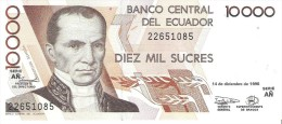 Ecuador - Pick 127 - 10.000 (10000) Sucres 1998 - Unc - Equateur